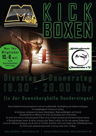 Flyer_kickboxen